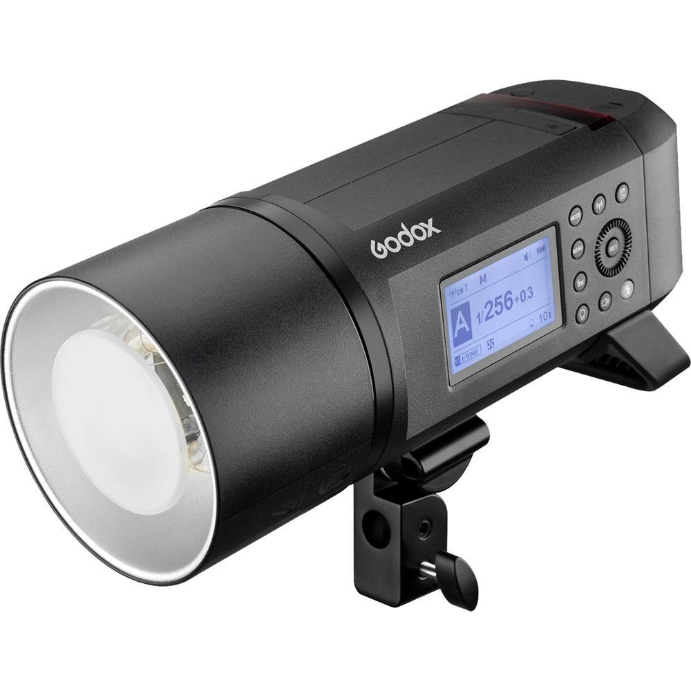 Godox AD600Pro Witstro avec intégré Godox 2.4G sans fil X système 600Ws TTL HSS li-on batterie tout-en-un Flash extérieur