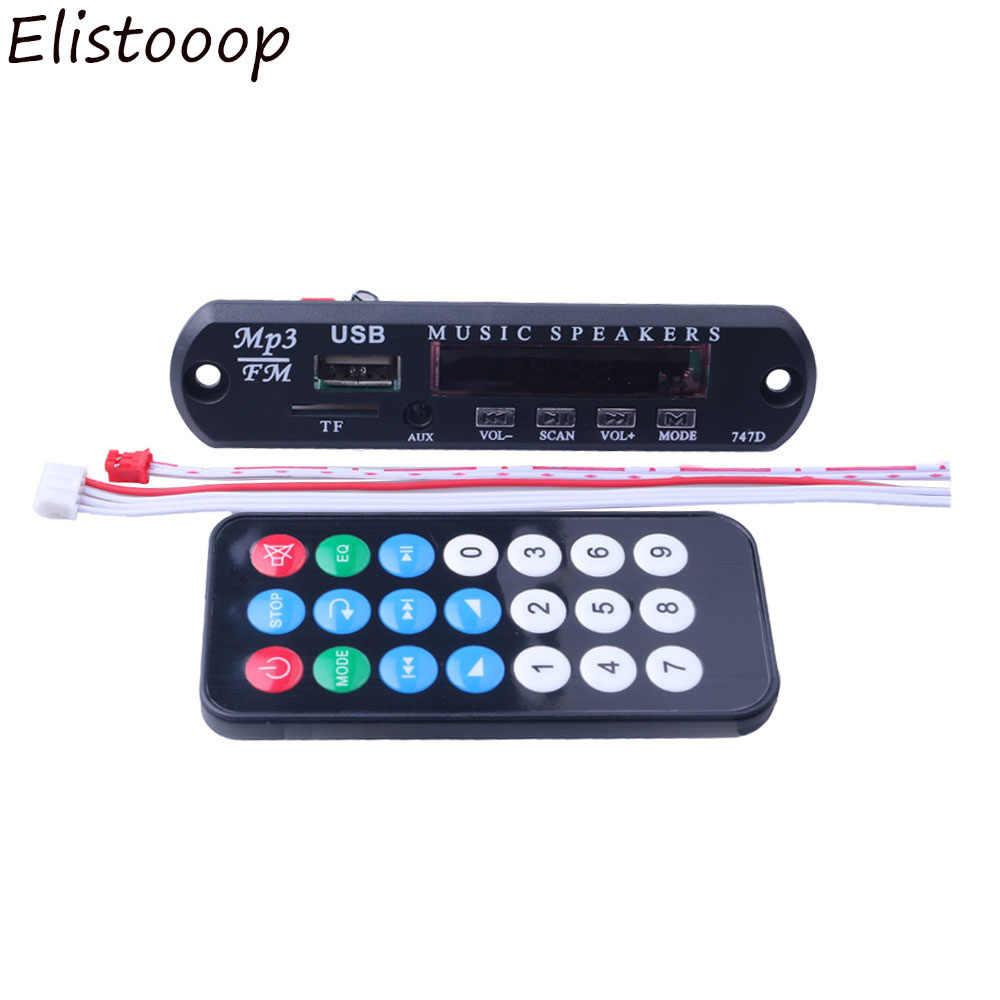 2019 hohe Qualität TF Radio MP3 Decoder Board 5V Audio Modul für Auto Fernbedienung Musik Lautsprecher DC 5V micro USB Power Versorgung