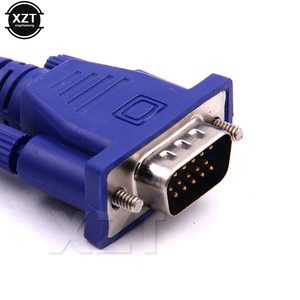 Image 5 - Cabo vga para vga de computador, 1 peça, 1.3m, com macho hdb15 e hdb15, conector macho para pc adaptador conversor para tv