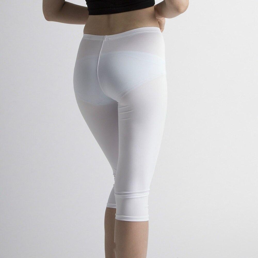 Sexy Hot See Through Transparent Black White Capris Women Long Capri Pants  Trousers(China ( - Online Buy Wholesale Sexy Capri Pants From China Sexy Capri Pants