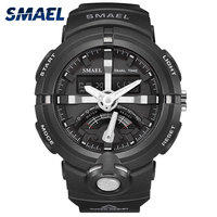 Fashion Sport Watches SMAEL Watch Wholesale LED Display Electronics Waterproof in 50 Meters Men Gift 1637 Alarm Mens Watches