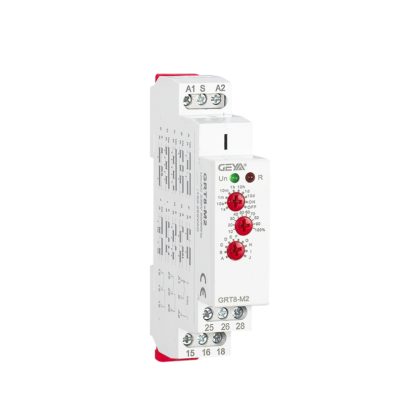 цена на 3 Knobs Multi-Function Din Rail Auto Timer Relays AC DC 12V 24V 220V DPDT Control Switch Time Delay Relay