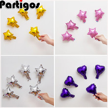 US $3.71 |50pcs/lot 5 Inch Star Heart Shape Aluminum Foil Balloons Inflatable Aluminum Balloons Wedding Birthday Party Decoration-in Ballons & Accessories from Home & Garden on Aliexpress.com | Alibaba Group