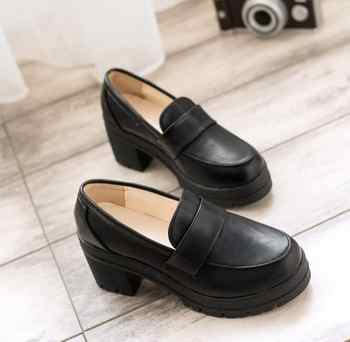 Uniform Shoes Uwabaki Japanese JK Women Girls School Students Lolita Shoes Black Red Beige Cosplay Shoes for Adult