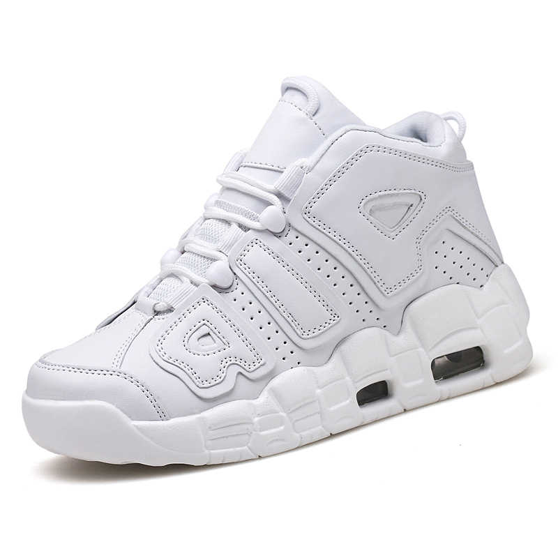 Sport Shoes for men Hot Selling Black white Fashion basketball shoes High-top Thick bottom Anti-Slippery Comfort Sneakers