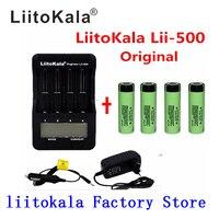Умное устройство для зарядки никель-металлогидридных аккумуляторов от компании Liitokala lii-500 Lii-PD4 lii-PL4 Lii-S1 ЖК 3,7 V/1,2 V 18500/26650/16340/14500/10440/18650 батарея...