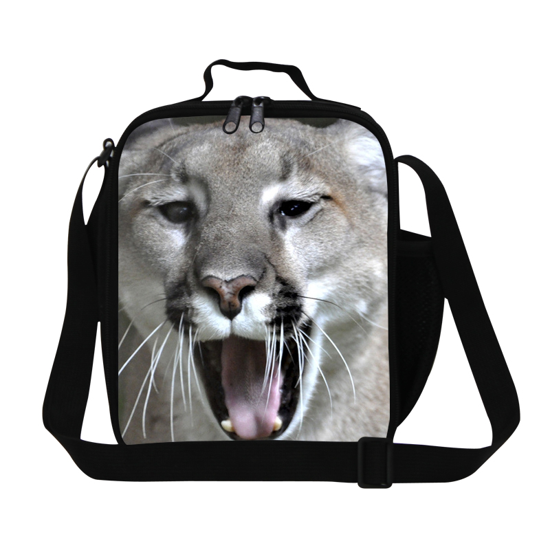 Leopard Print Kids Thermal Lunch Bags Insulated Lunch Box Carry Storage Picnic Bag For School Working Lancheira Bolsa Termica