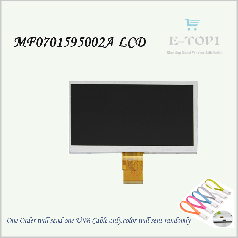 NEW!!7 MF0701595002A LCD Screen Display Panel LCD Display Repairment Parts Tablet Pc With Free Shipping