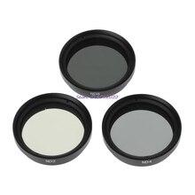 ND2 ND4 ND8 Filtro Lens Set Para DJI Fantasma 4 3 Pro Avançado Kit Câmera Zangão