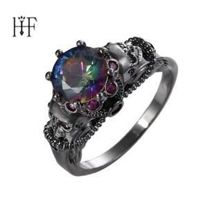 Top 10 Wedding Ring Black Gold Gothic Brands