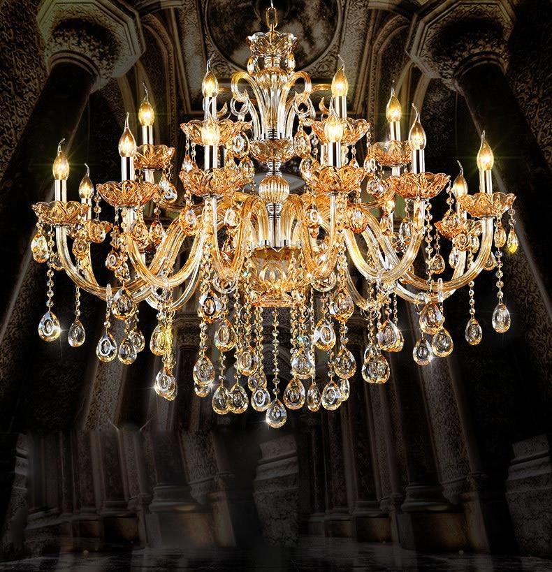 Moderní křišťálový lustr Jídelna lampa Lustry světlo Závesné světlo Lustres De Cristal Lamp LED závěsné svítidlo
