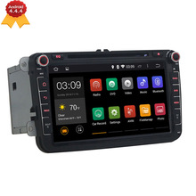 "Quad Core 1024*600 2 din 8 "" VW Android 4.4 Car DVD player for GOLF 5 Golf 6 POLO PASSAT SKODA CC JETTA TIGUAN TOURAN EOS GPS 3G"