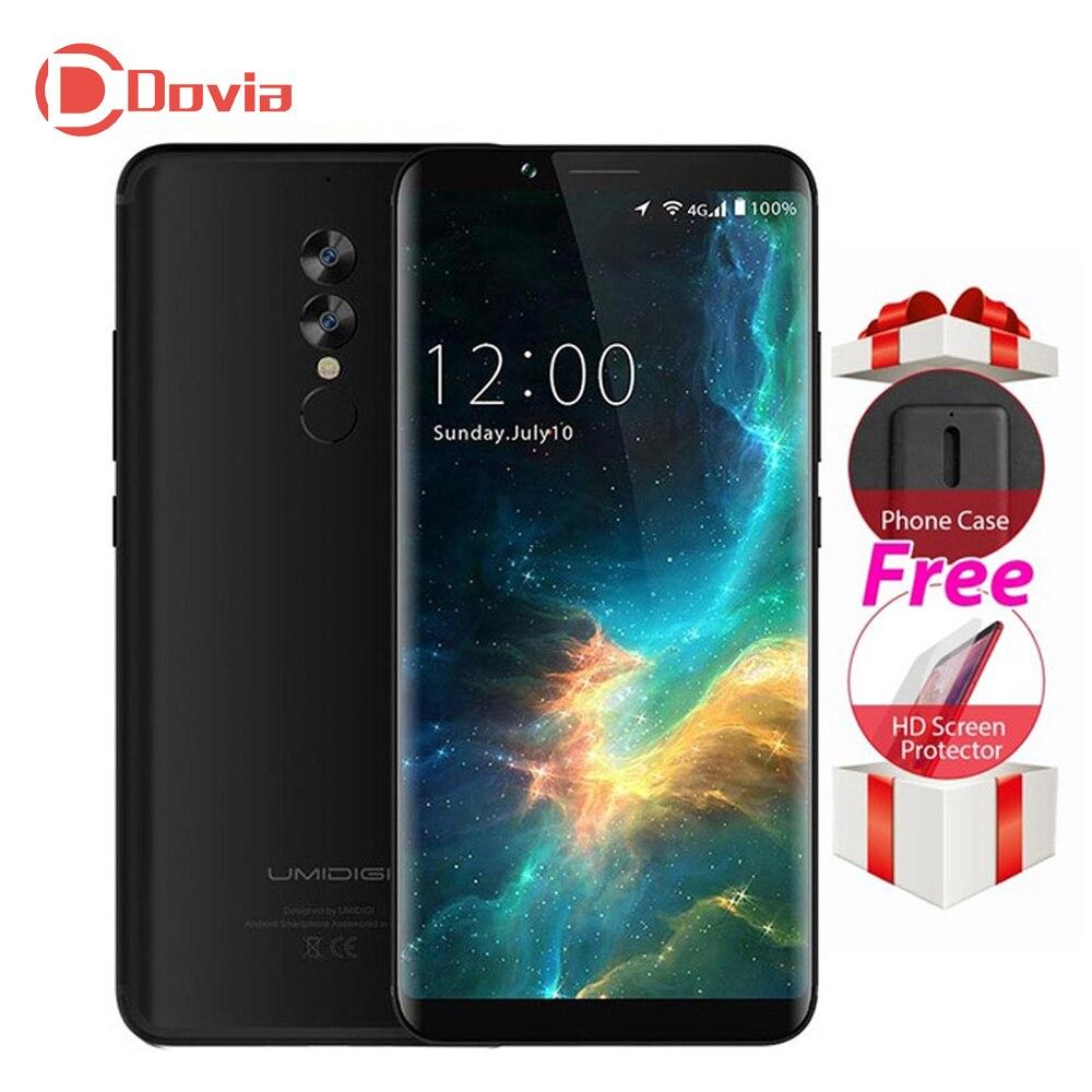 UMIDIGI S2 Lite 4g Mobile Téléphone 5.99 Android 7.0 MTK6750T Octa Core 1.5 ghz 4 gb + 32 gb 5100 mah 16MP + 0.3MP Double Cames Arrière Téléphone Portable