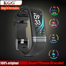 KGG G26S Smart Fitness Bracelet Watch Activity Tracker Waterproof Smart Band Blood Pressure Measurement Wristband Color Screen