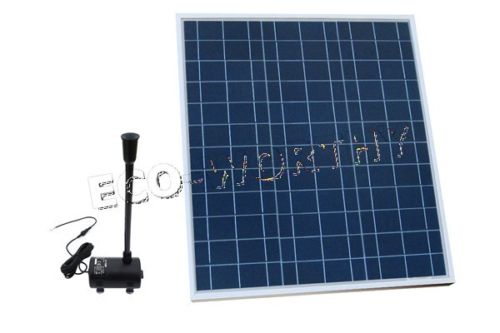 Solar Water Panel Powered Fountain Pump Kit for Pool Garden Pond Watering