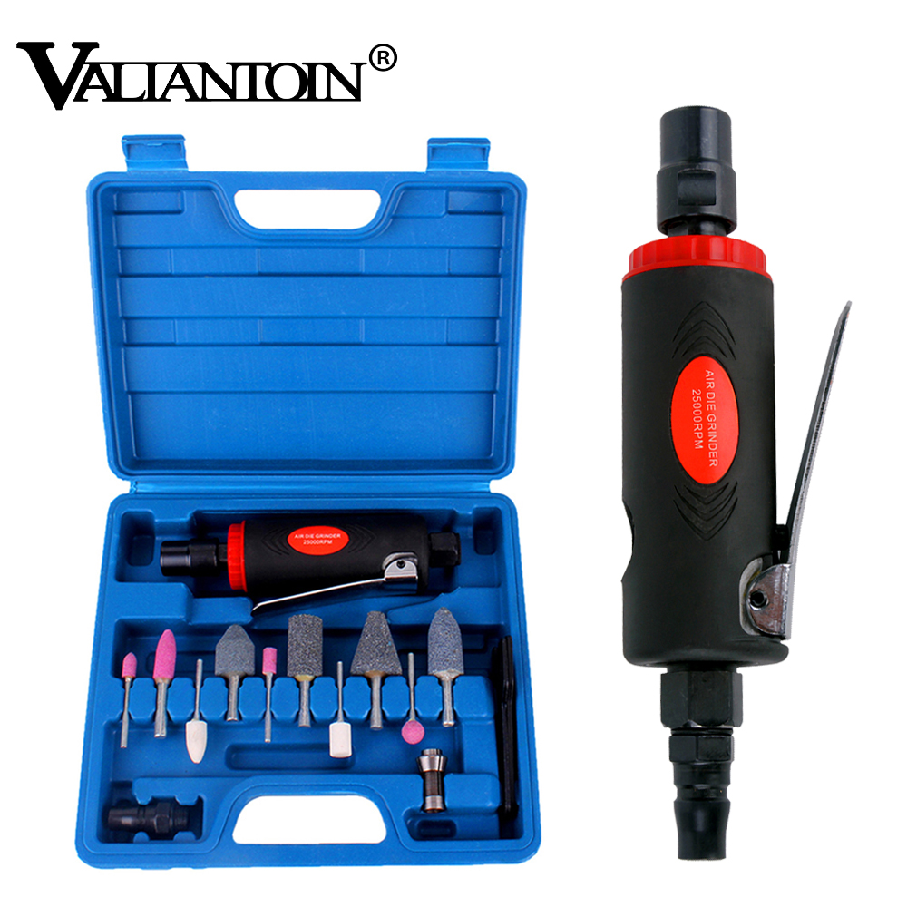 Pneumatic Tools Air Grinder Kit Micro Die Pneumatic Grinding Machine With Grinding Polish Stone Sanding Machine Tool