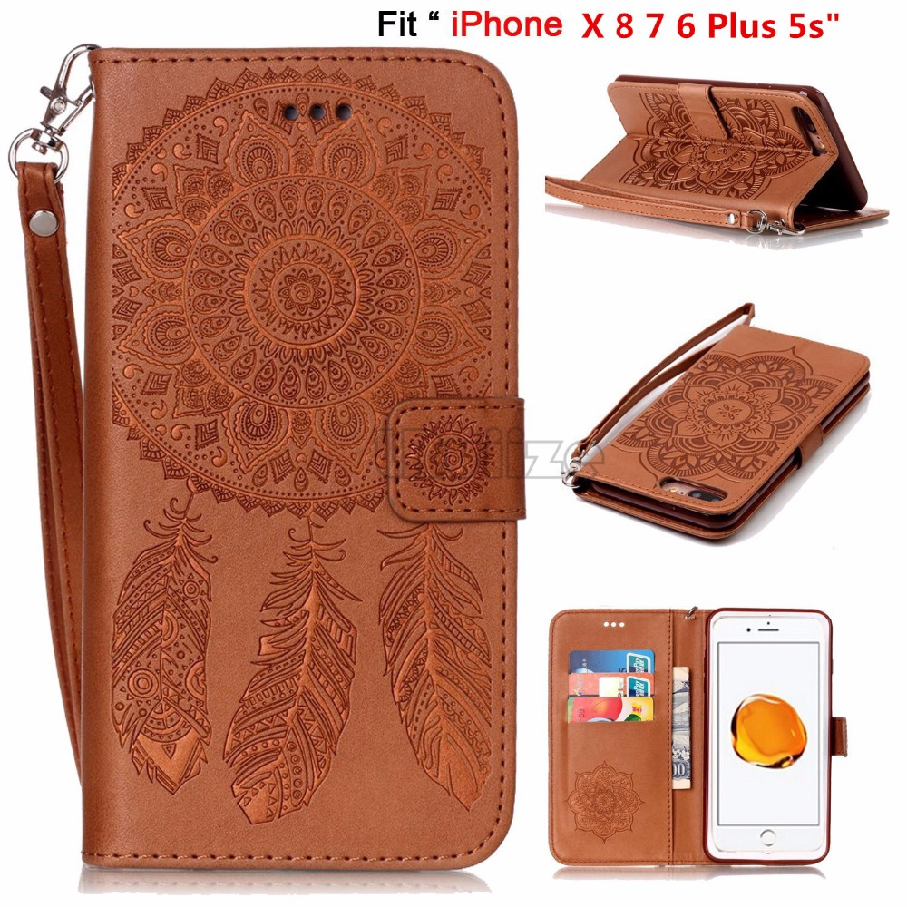 For Apple iphone Xs Max Xr 8 7 6s Plus 5 SE Luxury Retro printing Campanula Flower PU leather case Wallet Flip Stand cover CoqueFor Apple iphone Xs Max Xr 8 7 6s Plus 5 SE Luxury Retro printing Campanula Flower PU leather case Wallet Flip Stand cover Coque