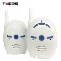 Fuers Nanny Baby Sitter Portable 2 4GHz Digital Audio Baby Monitor Sensitive Transmission Two Way Talk