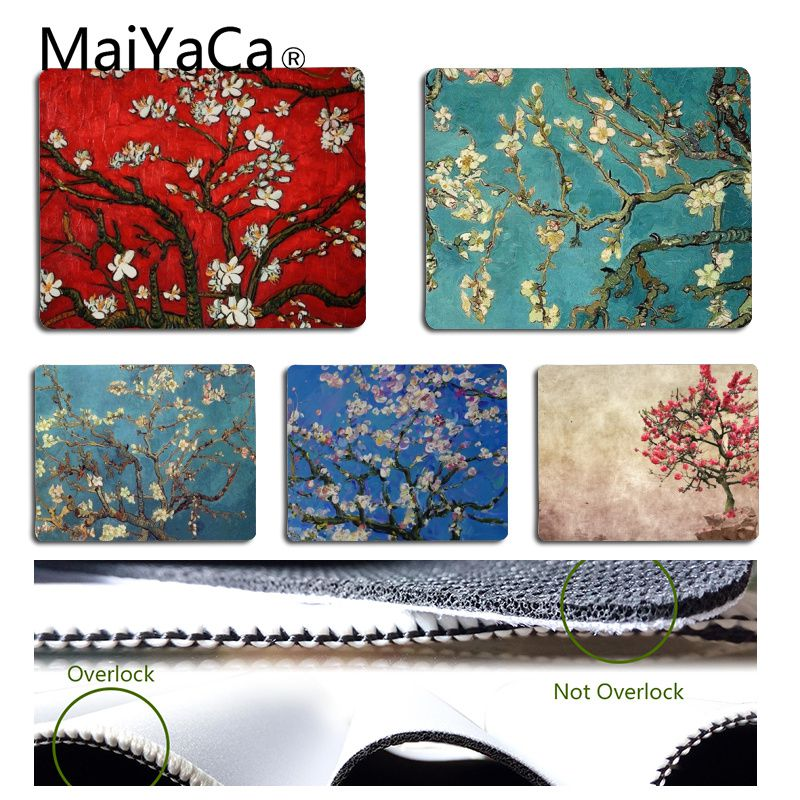 MaiYaCa Anime Cherry tree Customized MousePads Computer Laptop Anime Mouse Mat C