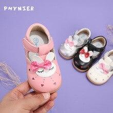 Детская обувь из воловьей кожи; Новинка весны года; обувь для малышей; обувь принцессы для девочек