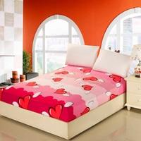 12 الألوان الصلبة ورقة السرير زهرة التصميم مع مرونة 100% ٪ حامي فراش الملكة/الملك شرشف القطن