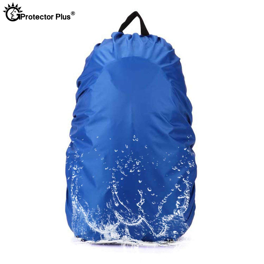 PROTECTOR PLUS Tactical Waterproof 20-70L Backpack Rain Cover Portable Ultralight Trunk Protector Dustproof Shoulder Outdoor