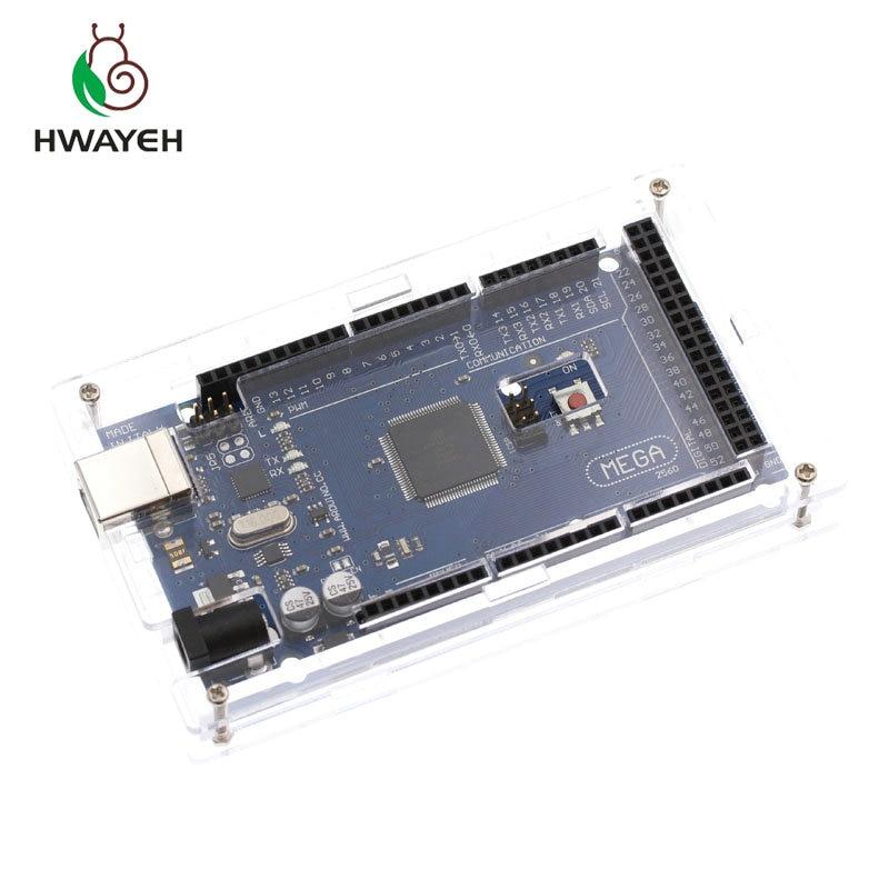 1 Satz Ein Satz Transparent Box Fall Shell Für Arduino Uno R3 Acryl Klar Werkzeuge Messung Und Analyse Instrumente
