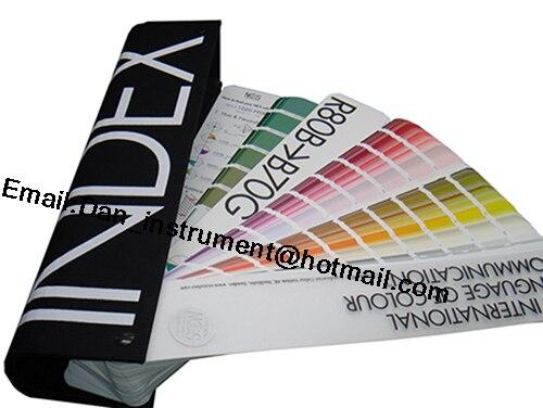 Swedish International ncs A-6-International General color card  1950 color призраки отеля international