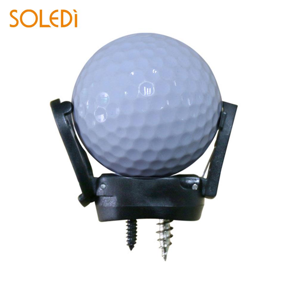 Black Convenient Golf Ball Pick Up Gift Plastic Golf Ball Claw Golf Ball Collector Drop shipping