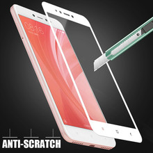 H&A 9H Full Cover Tempered Glass For Xiaomi Redmi 5A Note 5A Redmi 4X Protector Film For Redmi 4X 5A Screen Protector Film