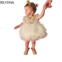 Baby Girl Princess Dress 0 6 Years Kids Sleeveless Autumn Winter Dresses for Toddler Girl Children