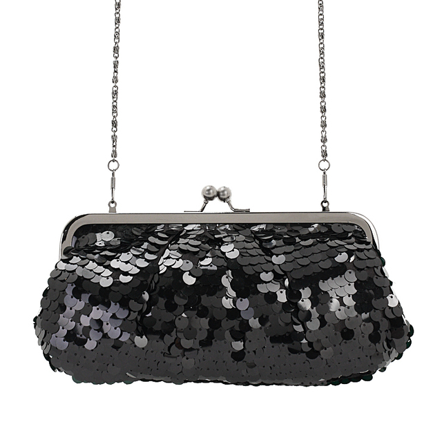 Hot-selling solid sequins decorated women's clutch, Evening Bag,Day Clutch,Handbag,Evening Purse,shoulder bag,free shipping