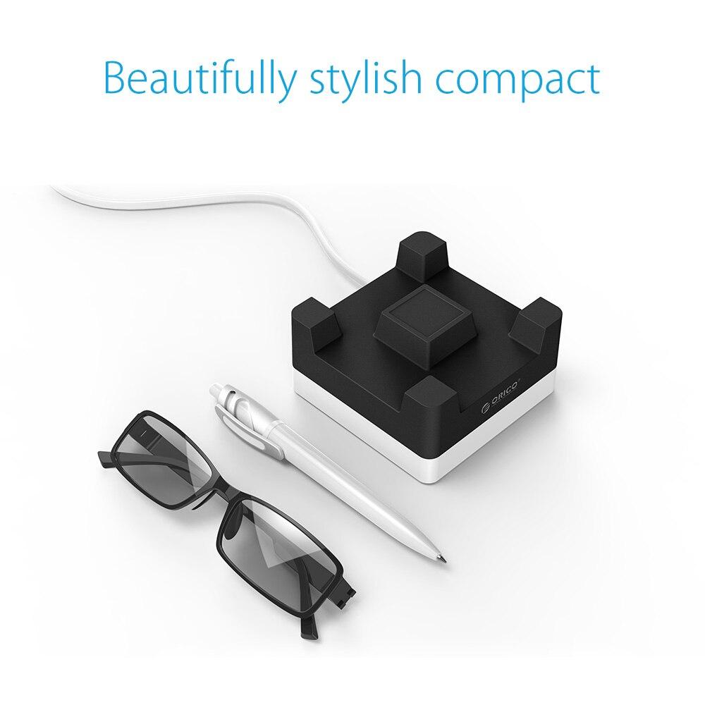 ORICO Cargador USB de escritorio de 4 puertos con soporte para - Accesorios y repuestos para celulares - foto 5