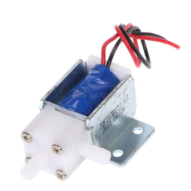 12V Normally Open Electric Control Solenoid Discouraged Air Water Valve Oct18 Electronics Stocks