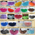 Envío gratis wholesale kids barato arco iris princesa party color verde falda del tutú de los bebés del tutú mullido