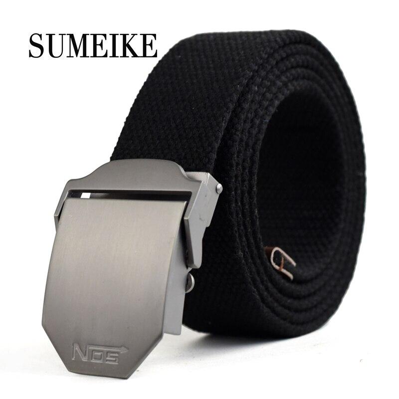 130 Cm Designer Cinture Per Gli Uomini Nuovo 2016 Casual Cintura Di Alta Qualità Di Lusso Automatico Fibbia Della Cintura Di Tela