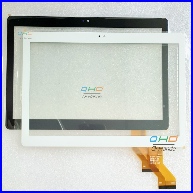 For MTCTP-10617 10.1 Inch New Touch Screen Panel Digitizer Sensor MGLCTP-10741-10617FPC MGLCTP-10927-10617FPC WY-CTP0001 new for 10 1 inch touch screen mglctp 10741 10617fpc digitizer sensor tablet pc replacement parts panel