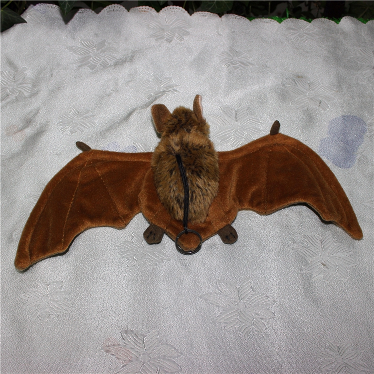 Stuffed Animal Toys Bat Doll Plush Pendant Toy Baby Birthday Gift Key