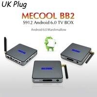 MECOOL BB2 Android 6 0 TV Box Amlogic S912 64 Bit Octa Core 2GB 16GB Bluetooth4