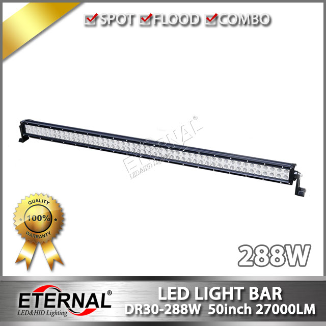 4pcs-288W LED light bar 50in roof rack bar for 4x4 off road Wrangler Polaris ATV UTV high power driving led light bar беспроводная акустика interstep sbs 150 funnybunny blue is ls sbs150blu 000b201