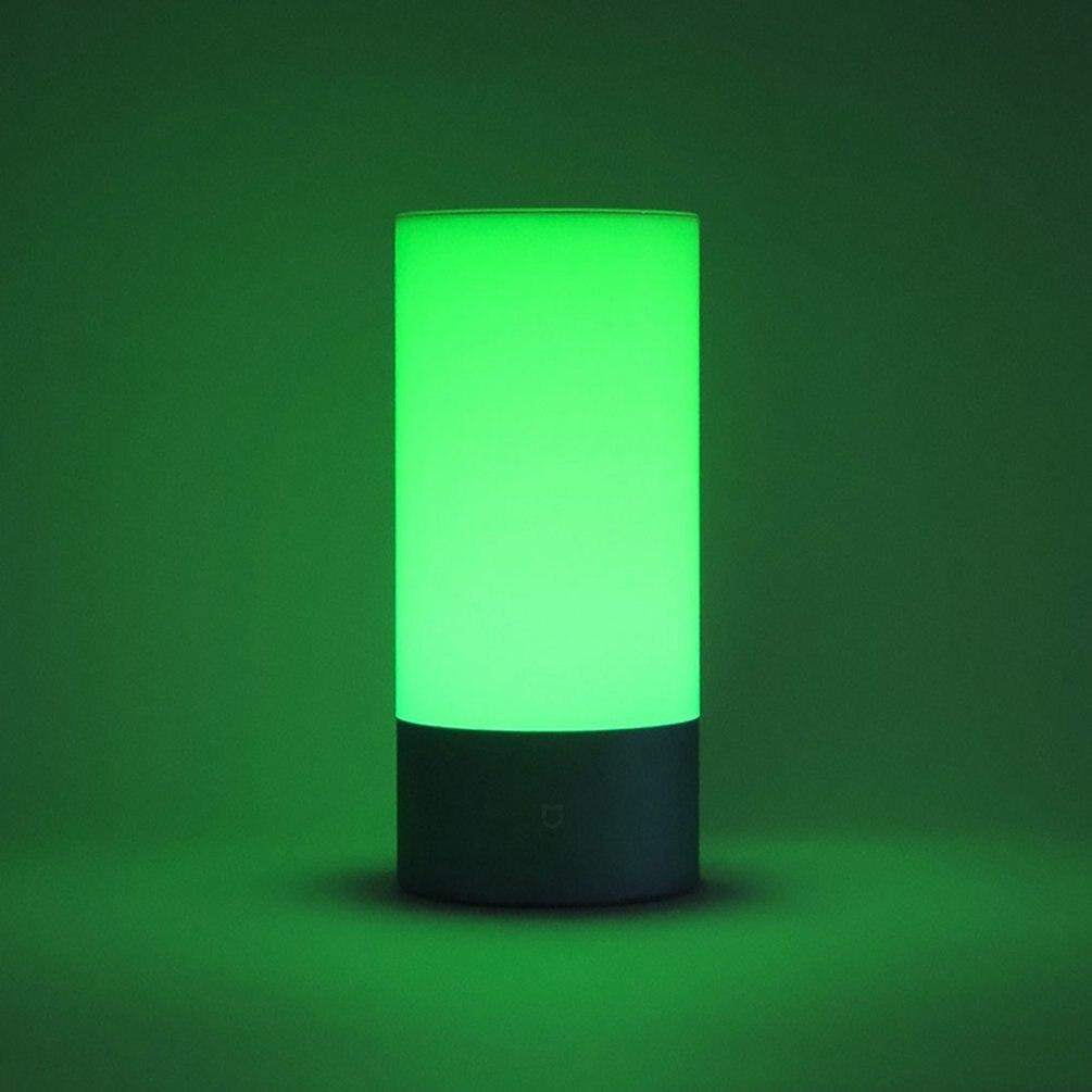 Mijia lampe de chevet intérieur Smart lumières contrôle tactile Bluetooth lampe de lit avec 16 millions de lumière rvb couleur soutien APP contrôle