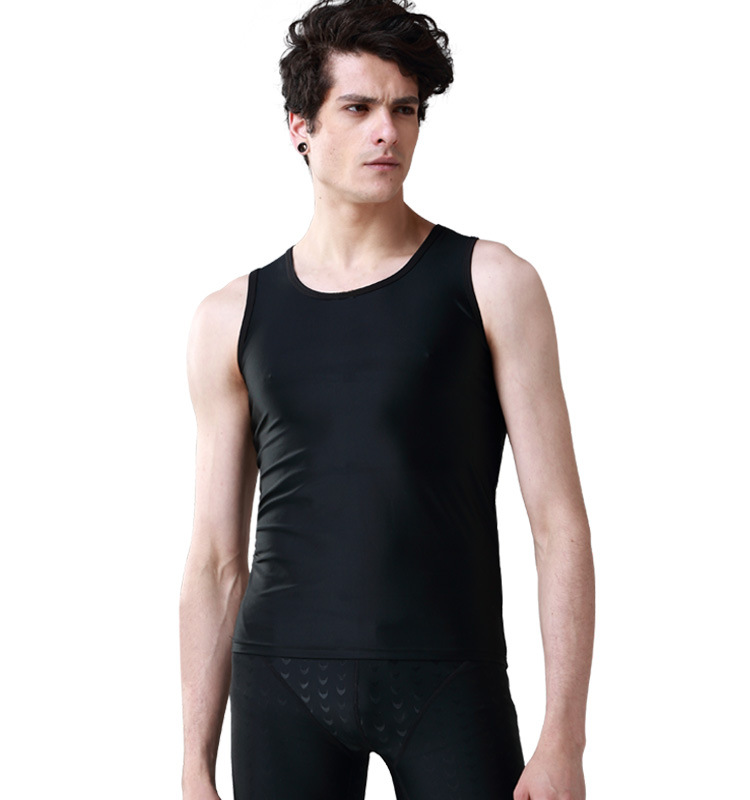 Online Get Cheap Sleeveless Swim Shirt Men