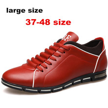large size 37-48 men Sneakers leather Running shoes women and men Sport Shoes Couple Single oxford arena Athletic free delivery