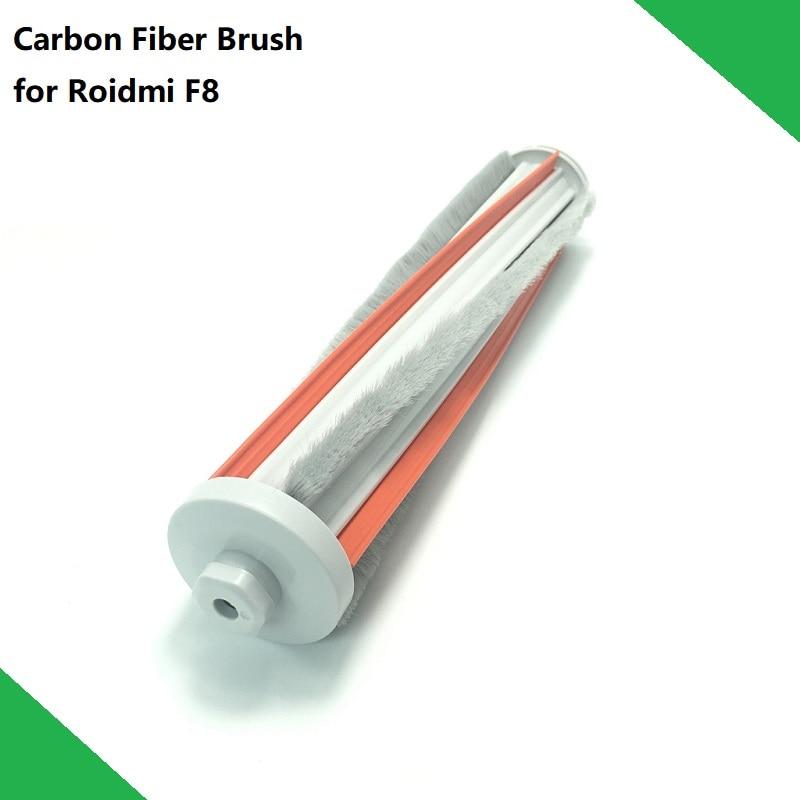 New Original Vacuum Cleaner Spare Parts Carbon Fiber Roller Brush For Roidmi Wireless Handheld Vacuum Cleaner F8