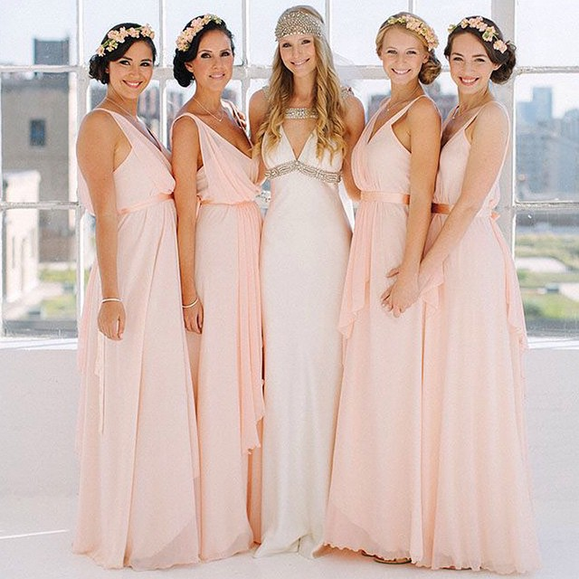 Summer Bridesmaids Dresses For The Beach - Wedding Dress Ideas
