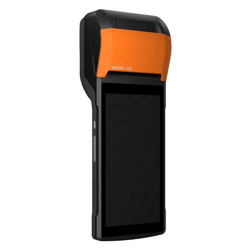 Image 3 - Sunmi V2 Android 7.1 Handheld Portable 4G Smart Mobile POS Terminal System with 58mm Thermal Printer for Bus Ticket Receipt-in Printers from Computer & Office