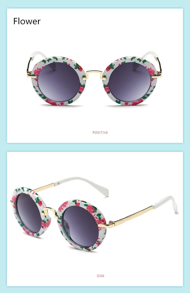 Kids Sunglasses UV400 Protection Plastic Frame for Baby Children Boys Girls New
