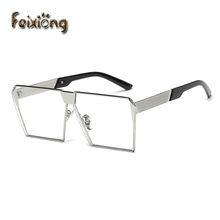 FEIXIONG brand square women sunglasses lunette soleil oversized eyeglasses big sunglasses mens sun glasses lentes de sol hombre