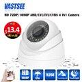 720 P/1080 P AHD Câmera de 4 in1 CCTV Visão Noturna de Vigilância de Vídeo de Câmera de Segurança cúpula IR plástico interior cameras de seguranca