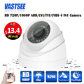 720P/1080P AHD Camera 4 in1 CCTV Security Camera plastic IR dome indoor Video Surveillance Night Vision cameras de seguranca